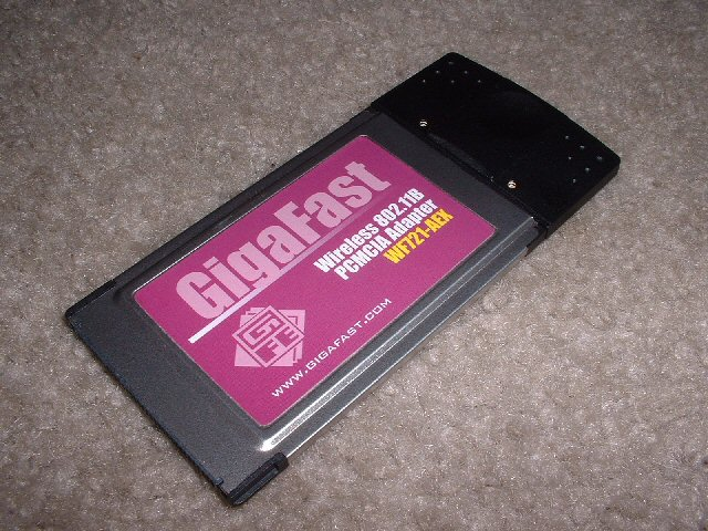 Download GigaFast WF748-CUI Drivers